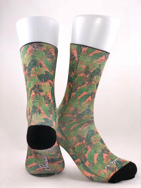 Calcetines hojas